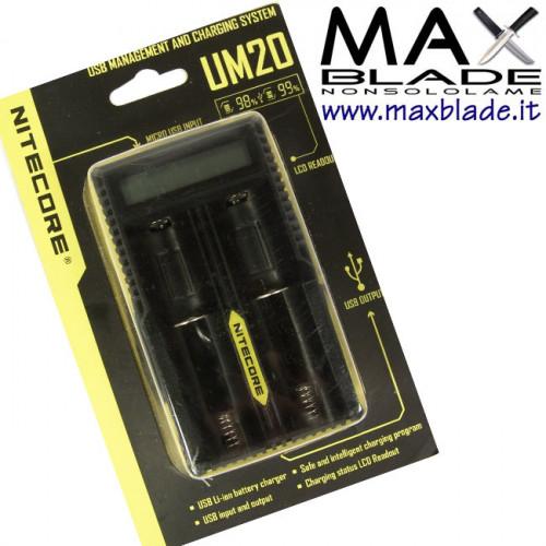 NITECORE Carica Batterie Universale e Dispositivi UM20
