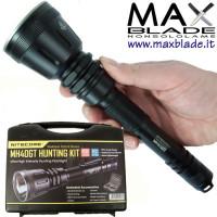 NITECORE Torcia LED ricaricabile MH40GT 1000 lumens Hunting Kit