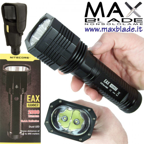 NITECORE Torcia LED Hammer EAX 2000 lumens