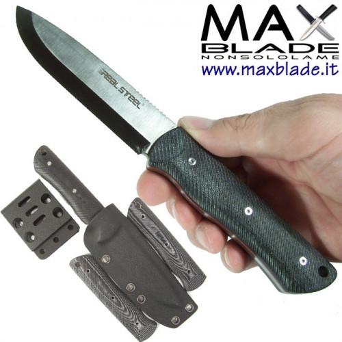 REAL STEEL Bushcraft Individual coltello