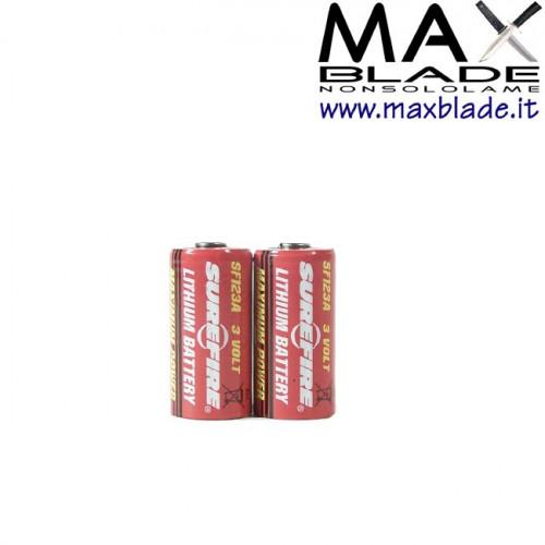 SUREFIRE Batterie CR123A 2 pz ricambi