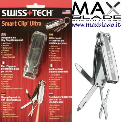 SWISS TECH Portachiavi Smart Clip Ultra
