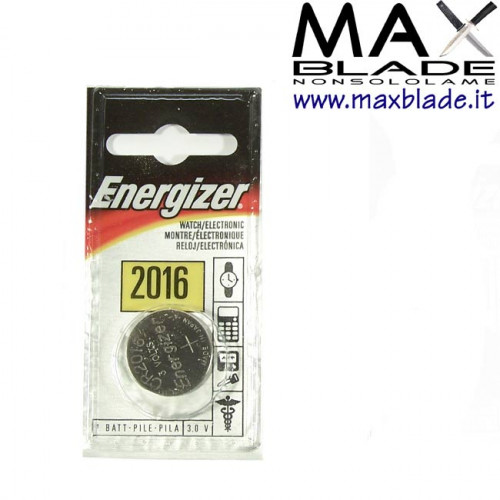 ENERGIZER Batteria 3v litio 2016