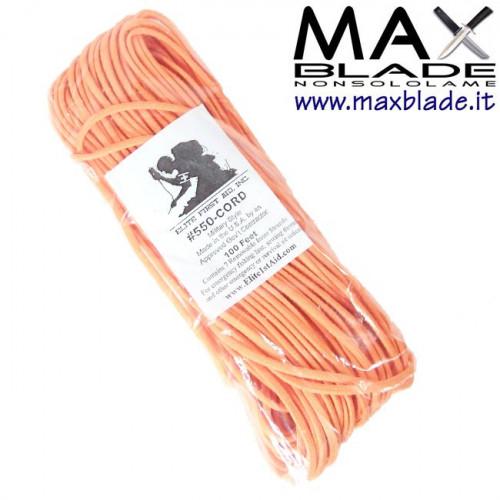 PARACORD Nylon Arancio 30 m